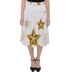 Star Christmas Ornaments Classic Midi Skirt