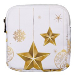 Star Christmas Ornaments Mini Square Pouch