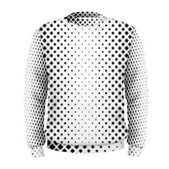 Square Rounded Background Men s Sweatshirt