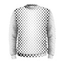 Square Rounded Background Men s Sweatshirt View1