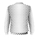 Square Rounded Background Men s Sweatshirt View2