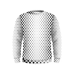 Square Rounded Background Kids  Sweatshirt