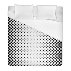 Square Rounded Background Duvet Cover (full/ Double Size)