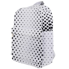 Square Rounded Background Classic Backpack