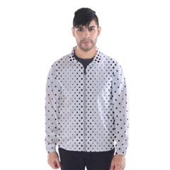Square Rounded Background Windbreaker (men)