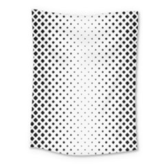 Square Rounded Background Medium Tapestry