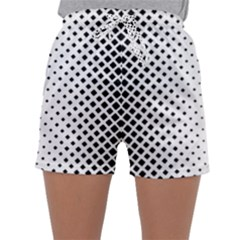 Square Rounded Background Sleepwear Shorts