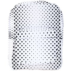 Square Rounded Background Full Print Backpack