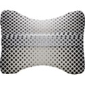 Square Rounded Background Velour Seat Head Rest Cushion View2