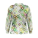 Square Colorful Geometric Style Women s Sweatshirt View2