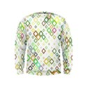 Square Colorful Geometric Style Kids  Sweatshirt View1