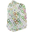 Square Colorful Geometric Style Classic Backpack View2