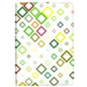 Square Colorful Geometric Style Apple iPad Pro 9.7   Flip Case View1