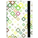 Square Colorful Geometric Style Apple iPad Pro 9.7   Flip Case View2