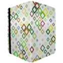 Square Colorful Geometric Style Apple iPad Pro 9.7   Flip Case View3