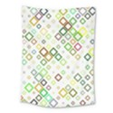 Square Colorful Geometric Style Medium Tapestry View1