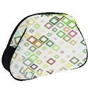 Square Colorful Geometric Style Full Print Accessory Pouch (Big) View2