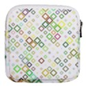Square Colorful Geometric Style Mini Square Pouch View2