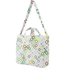 Square Colorful Geometric Style Square Shoulder Tote Bag
