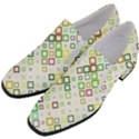 Square Colorful Geometric Style Slip On Heel Loafers View2