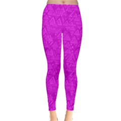 Triangle Pattern Seamless Color Leggings