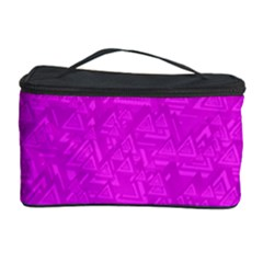 Triangle Pattern Seamless Color Cosmetic Storage