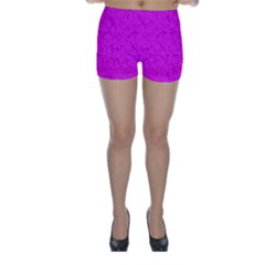 Triangle Pattern Seamless Color Skinny Shorts