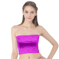 Triangle Pattern Seamless Color Tube Top