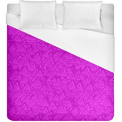 Triangle Pattern Seamless Color Duvet Cover (king Size)
