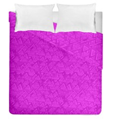 Triangle Pattern Seamless Color Duvet Cover Double Side (queen Size) by Alisyart