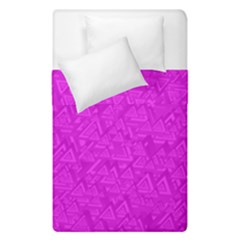 Triangle Pattern Seamless Color Duvet Cover Double Side (single Size)