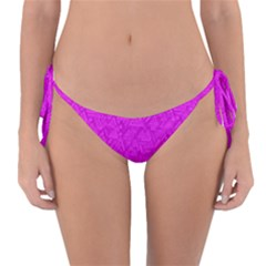 Triangle Pattern Seamless Color Reversible Bikini Bottom
