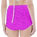 Triangle Pattern Seamless Color High-Waisted Bikini Bottoms View2