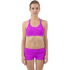 Triangle Pattern Seamless Color Back Web Gym Set by Alisyart