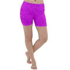 Triangle Pattern Seamless Color Lightweight Velour Yoga Shorts