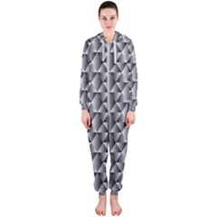 Seamless Repeating Pattern Hooded Jumpsuit (ladies)