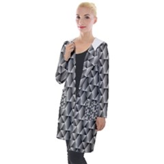 Seamless Repeating Pattern Hooded Pocket Cardigan by Alisyart