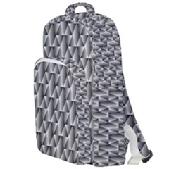 Seamless Repeating Pattern Double Compartment Backpack
