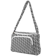 Seamless Repeating Pattern Front Pocket Crossbody Bag