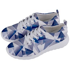 Triangle Blue Men s Lightweight Sports Shoes by Alisyart