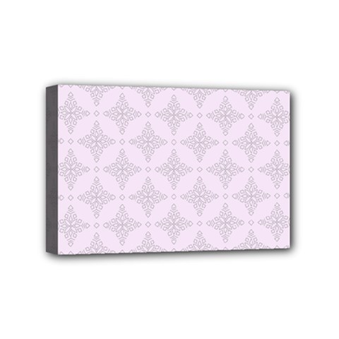 Star Pattern Texture Background Mini Canvas 6  X 4  (stretched)