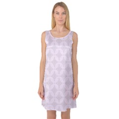 Star Pattern Texture Background Sleeveless Satin Nightdress