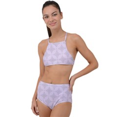 Star Pattern Texture Background High Waist Tankini Set by Alisyart