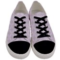 Star Pattern Texture Background Men s Low Top Canvas Sneakers View1