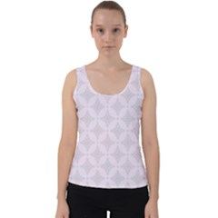 Star Pattern Texture Background Velvet Tank Top
