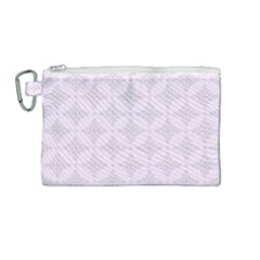 Star Pattern Texture Background Canvas Cosmetic Bag (medium)