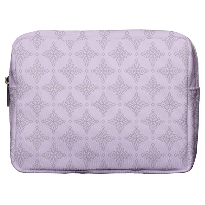 Star Pattern Texture Background Make Up Pouch (Large)