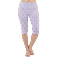 Star Pattern Texture Background Lightweight Velour Cropped Yoga Leggings