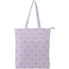 Star Pattern Texture Background Double Zip Up Tote Bag
