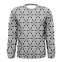 Ornamental Checkerboard Men s Long Sleeve Tee View1